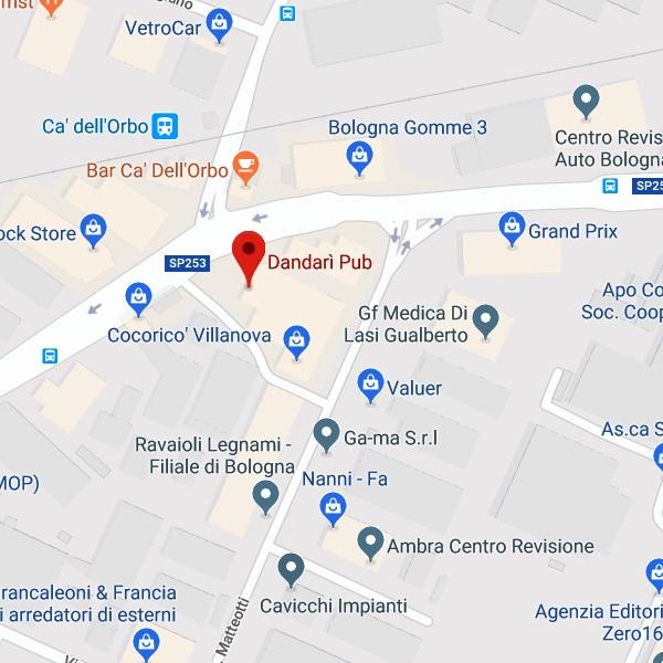 Dandarì Pub - Villanova di Castenaso (BO)